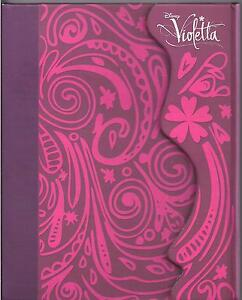 DIARIO-OFICIAL-VIOLETTA-DISNEY-BRAND-NEW-SEALED-DIARY-NOTEBOOK
