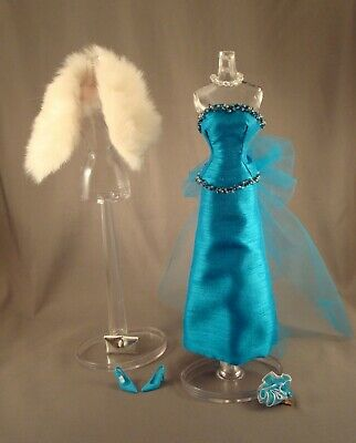 OOAK Evening Gown for Vintage Barbie, Silkstone, and Fashion Royalty Dolls