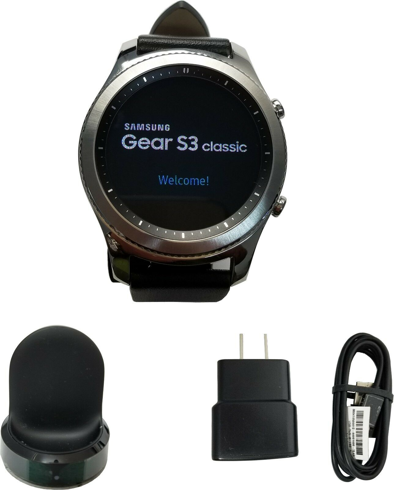 Samsung Galaxy Gear S3 classic Smart Watch 46mm Stainless St