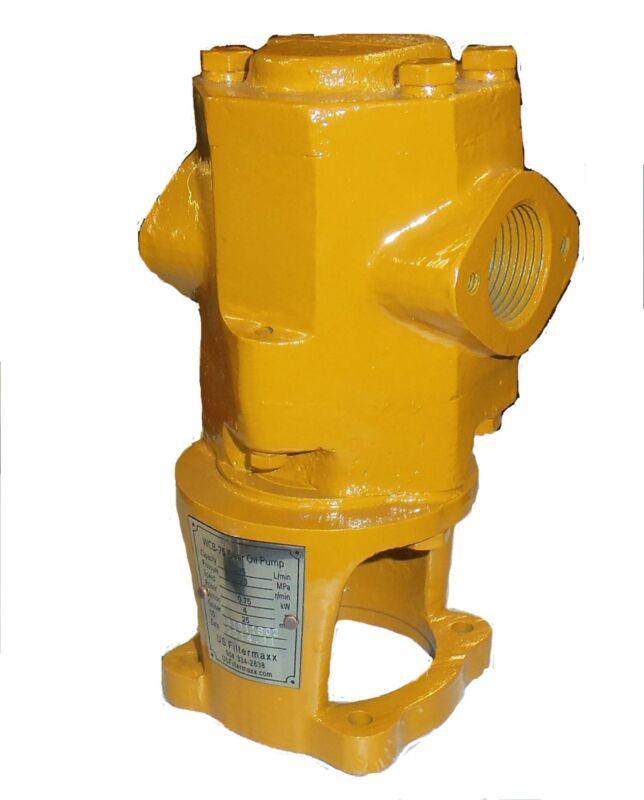 15 gpm WVO Pump Oil transfer Gear Pump for Motor Oil, Biodiesel by USFiltermaxx