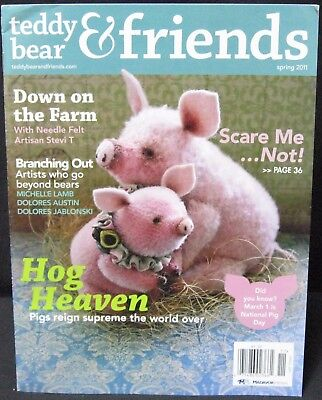 Teddy Bear And Friends Magazine Spring 2011 issue