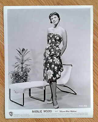 NATALIE WOOD rare vintage 1950s US 8x10 PIN UP FASHION publicity studio still 26