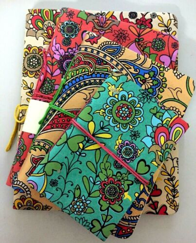 Indian Handmade Cotton Paper Books Blank Page Journal Notebook Travel Boho Diary