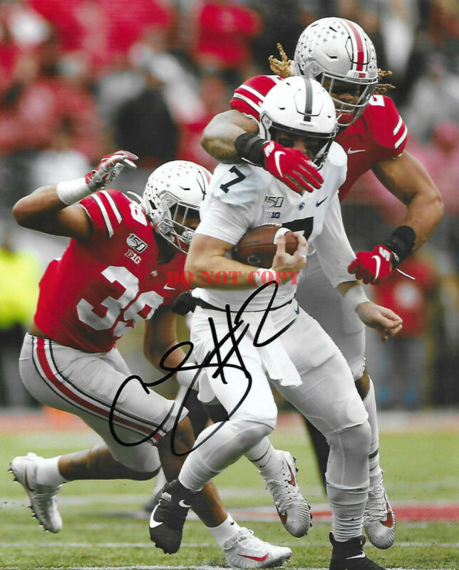 Ohio State #2 Chase Young Signed Autographed 8x10 Football Photo Coa! Go Bucks R