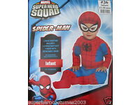 Superhero Squad Iron Man Muscle Toddler Costume Marvel Size 3T NEW PC279 4T