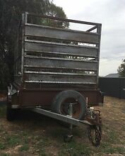 8x5 Tandem Trailor with stock crate Bendigo 3550 Bendigo City Preview