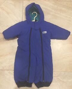 Nice Kids MEC Blue Snowsuit size 2.
