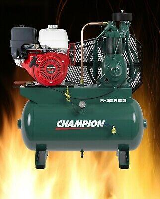 Hgr7-3h Champion 30gallon 13hp Honda Air Compressor 3year Parts Labor Warranty