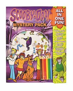 Scooby Doo Mystery Inc Busy Pack Stickers Board Game