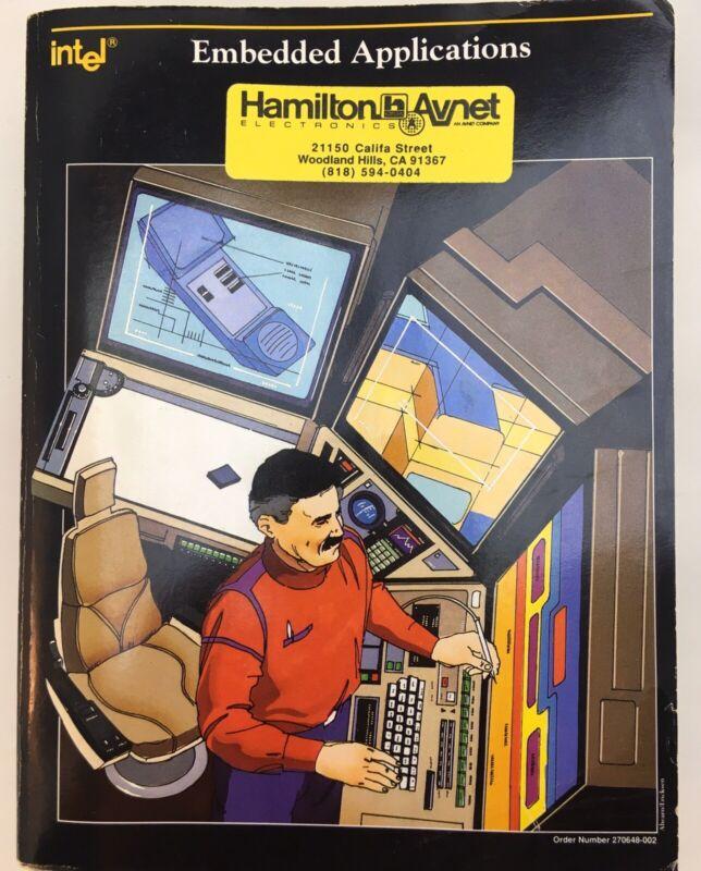 USED 1990 Intel Embedded Applications Handbook