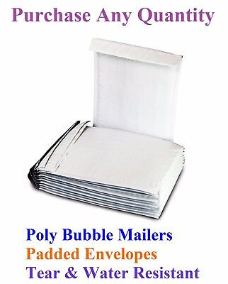 10-2000 000 4x8 Mailing Small Poly Bubble Mailers Padded Envelopes Bags 4 X 7