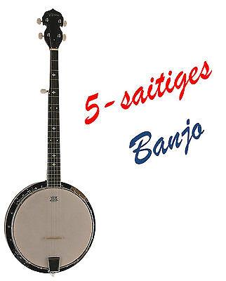 Banjo BX5-5-saitiges, Mensur 65,5cm, Remo Weatherking-Fell, Randeinlagen!!n