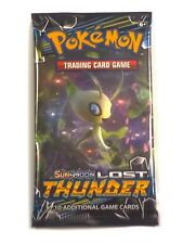 Pokemon SM8 Lost Thunder, 1 Single Loose Booster Pack New