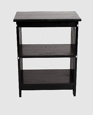 Black Mission Style End Table 20