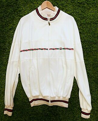 Used, Gucci track jacket 1980's vintage authentic  for sale  Shipping to India