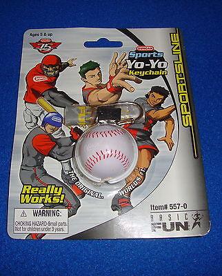 Duncan Sports Yo-Yo Baseball Keychain by Basic Fun MOC