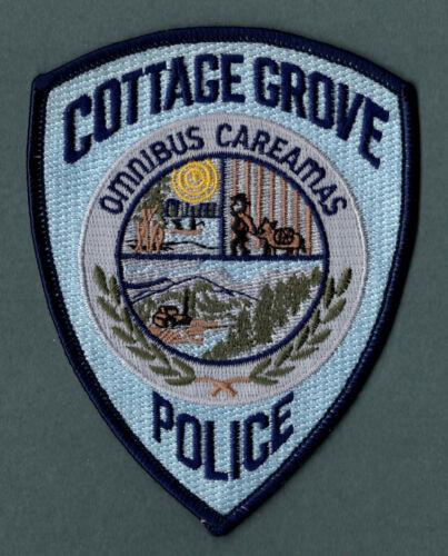 Cottage Grove Oregon Police Patc