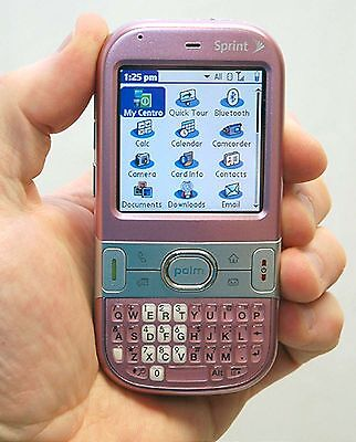 Palm Centro 690 Sprint Cell Phone treo PINK bluetooth camera pda web Refurbished Pda Bluetooth Handy