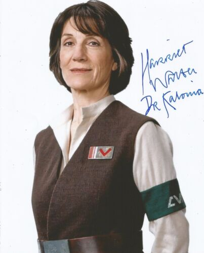 Harriet Walter Signed Star Wars 10x8 Photo With Proof AFTAL