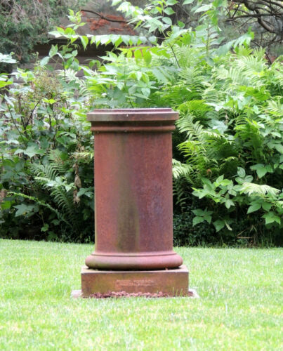 Antique Robert Wood & Co. Philadelphia Cast Iron PEDESTAL Victorian Column Fence