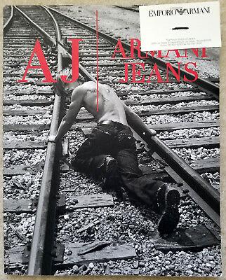 Armani Jeans catalog Fall 2001 Adriana Lima Renata Maciel Ruedi Hofmann fashion