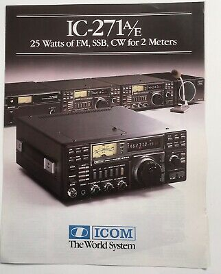 Capacitor Replacement Kit Icom IC-271A//E//H VHF Trans