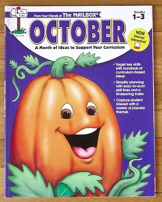 The Mailbox OCTOBER Grades 1-3 harvest fire safety spiders Halloween pizza more](Halloween Fire Safety)
