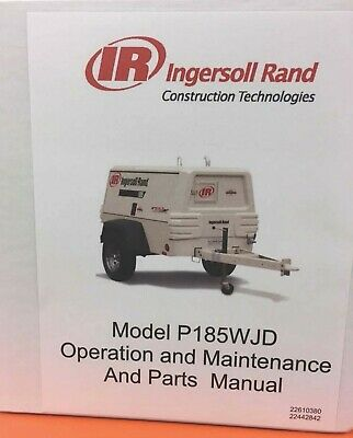 Ingersoll Rand P185wjd Air Compressor Manual