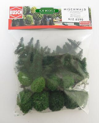 BNIB BUSCH 7116 100g LARGE VALUE PACK GREEN MIX STATIC GRASS MODEL SCENERY OO N
