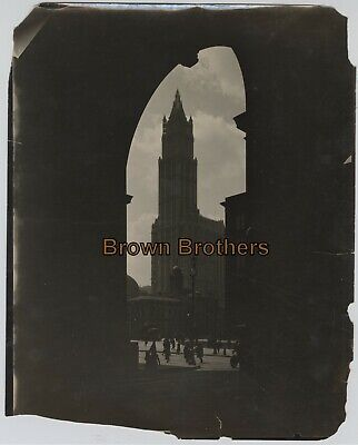 Vintage 1910s NYC Woolworth Building Highest Building in World Photos #13 (3pcs)