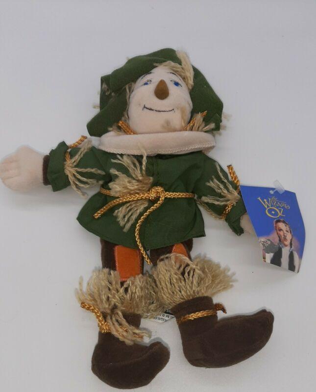 Scarecrow Beanie~Warner Bros. Wizard of Oz Plush Toy ~1998 NWT