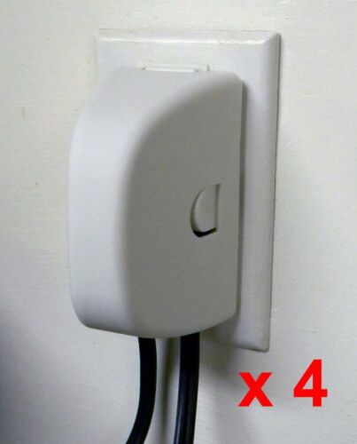 ChildSafe Plug and Outlet Cover For Child Proofing Your Home - 4 pack