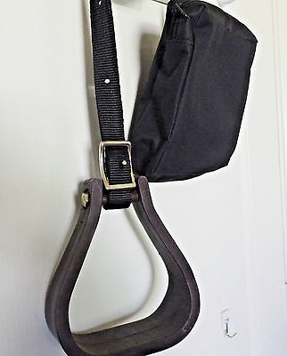 tough 1 Western stirrup mounting aid 72-2050 w/canvas case,western horse tack