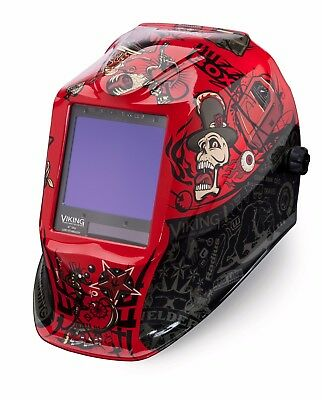 Lincoln Electric Viking 3350 Mojo Auto-darkening Welding Helmet K3101-3