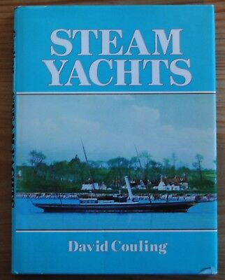 Steam Yachts By David Couling 120 Pages Dust Jacket  Co
