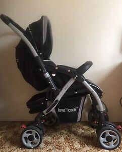Love n care Delta II pram/stroller reversible handle Bankstown Bankstown Area Preview