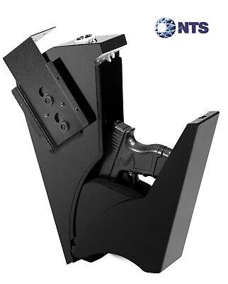 Gun Safe Pistol Single Handgun Keypad Lock Quick Access Home Security Mountable