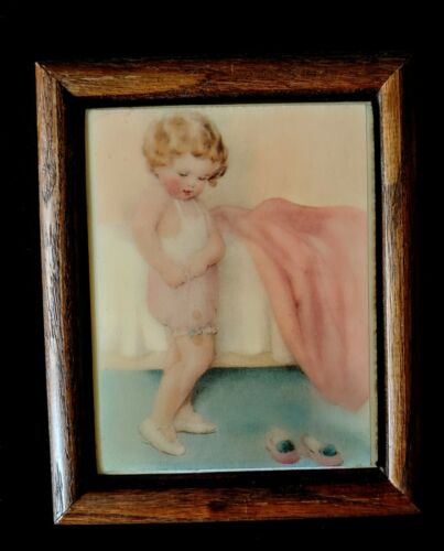 The Exquisite Art of BESSIE PEASE GUTMAN Rockford Editions Art Tile Framed