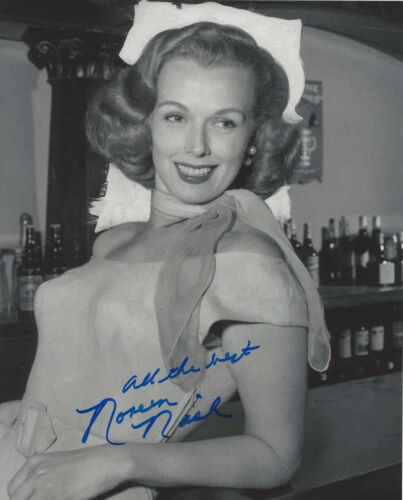 NOREEN NASH SIGNED AUTHENTIC PHANTOM FROM SPACE 8X10 PHOTO 4 w/COA ACTRESS GIANT