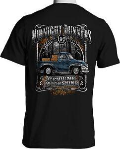 Moonshine t shirt chevy pickup mens big tall 2xl 3xl 4xl for Mens 2xl tall shirts