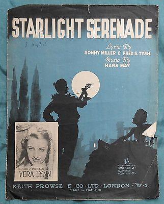 Vera Lynn – Starlight Serenade  pub.1941
