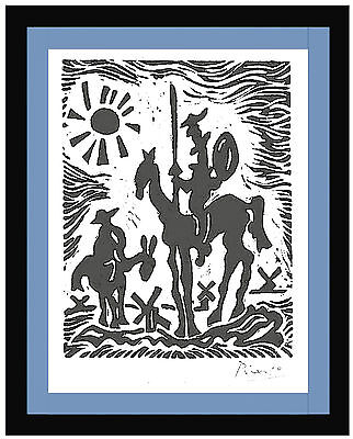 Pablo Picasso Hand Signed Ltd Edition Print