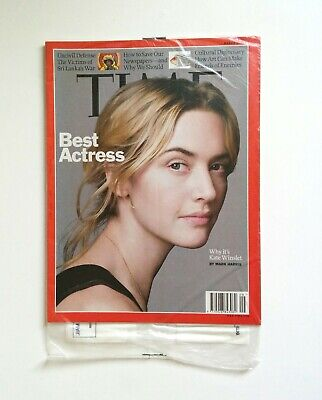 NEW TIME Magazine March 2, 2009 // MAR 09 — Best Actress Kate Winslet Culture