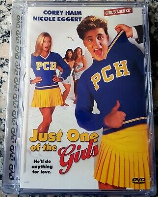 JUST ONE OF THE GIRLS RARE NEW DVD Corey Haim Nicole Eggert Anything For