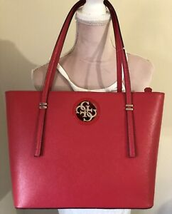 Guess red purse NWT