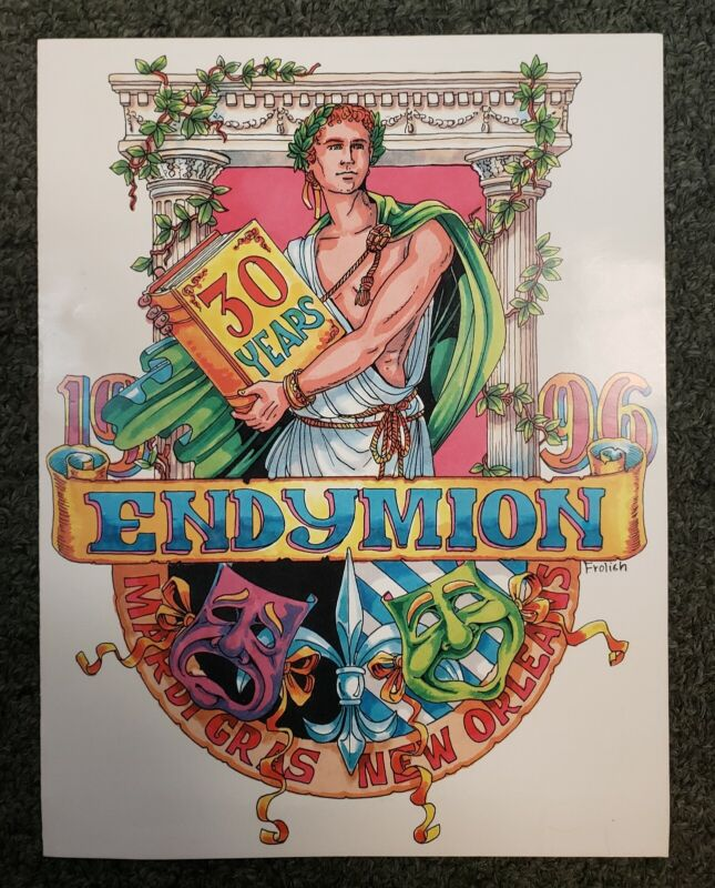 1996 Endymion Extravaganza Invitation (New Orleans Mardi Gras)