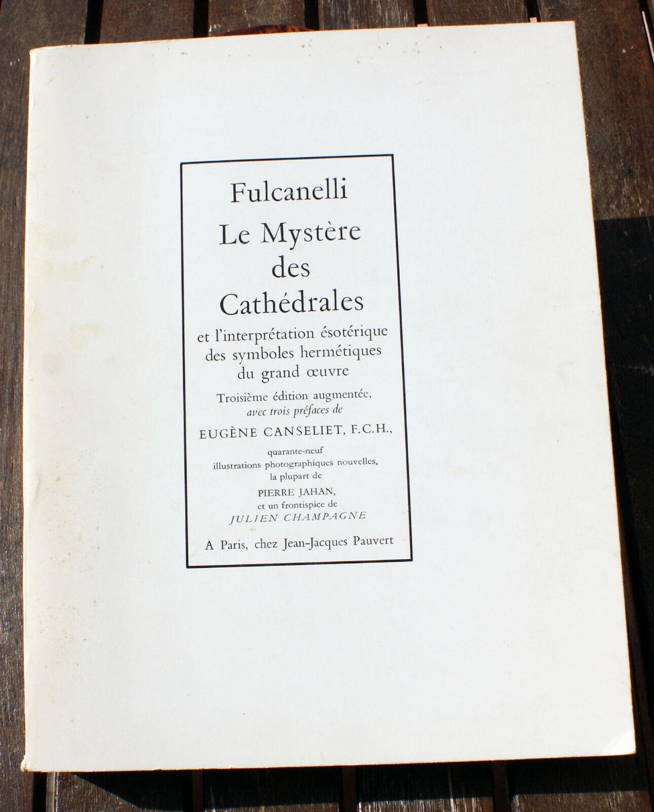 Le mystère des cathédrales - Pauvert