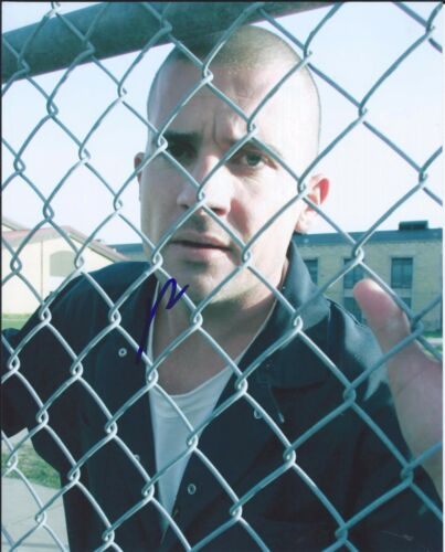 Dominic Purcell Signed Autographed 8x10 Photo The Flash Prison Break COA