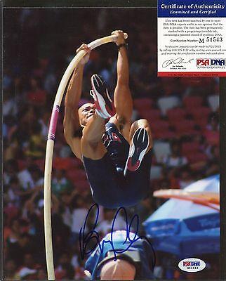Bryan Clay Signed 8x10 Photo PSA/DNA COA Autograph AUTO