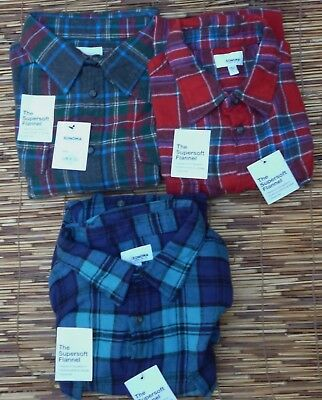2 Pocket Button (SONOMA THE SUPERSOFT FLANNEL MENS CLASSIC 2 POCKET BUTTON SHIRT LIST)